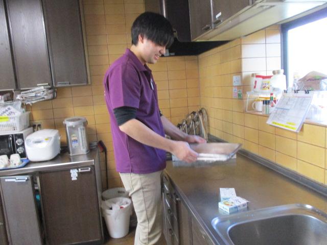 桂台の新人職員:森木君の料理