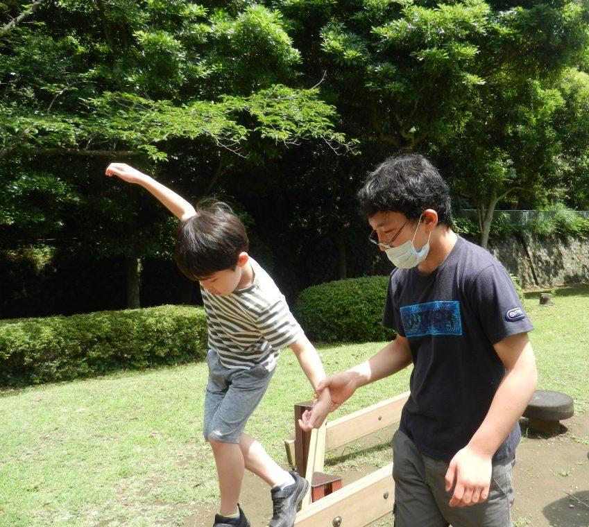 ハートリンク放課後等デイサービス富岡東 公園で遊ぼう!